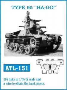 Friulmodel 1:35 ATL-151 TYPE 95 HA-GO