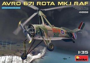 MiniArt 41008 AVRO 671 ROTA MK.I RAF 1/35