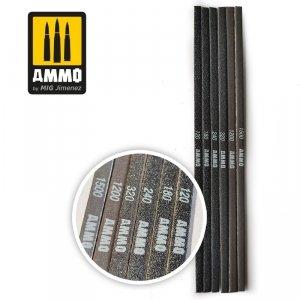 Ammo of Mig 8568 CONTOUR SANDING STIK 120/180/240/320/1200/150 patyczki ścierne