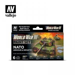 Vallejo 70223 WWIII NATO Armour & Infantry 6x17ml