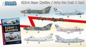 Special Hobby 72417 SMB-2 Super Mystere Duo Pack + książka 1/72