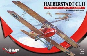 Mirage Hobby 481306 Halberstadt CL.II, Two-seater, Ground Support Aircraft, early version (1:48)