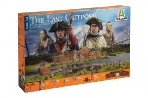Italeri 6180 THE LAST OUTPOST 1754-1763 FRENCH AND INDIAN WAR 1/72