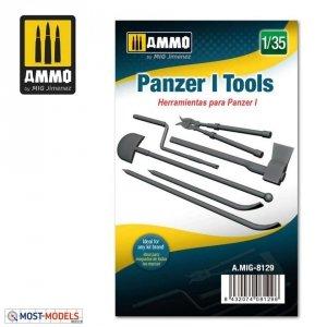 Ammo of Mig 8129 PANZER I TOOLS 1/35