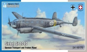 Special Hobby 48170 Siebel Si 204D 'German Transport and Trainer Plane' 1/48