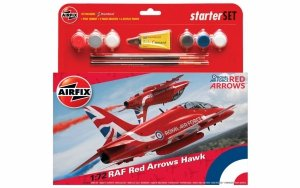 Airfix 55202B RAF Red Arrows Hawk 2015 Starter Set 1:72
