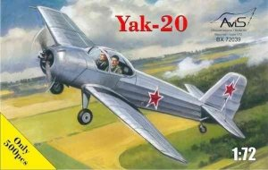 Avis 72039 Yak-20 1/72