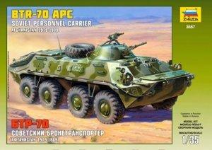 Zvezda 3557 BTR-70 Russian personal carrier (Afgan War) 1/35