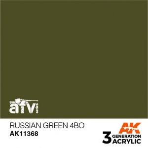 AK-Interactive AK 11368 Russian Green 4BO 17ml