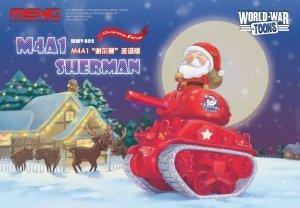 Meng Model WWV-002 M4A1 Sherman Q Editon Assembly Model Christmas Xmas Special Gift