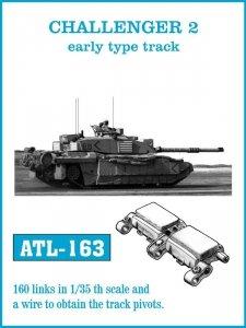 Friulmodel ATL-163 CHALLENGER 2 early type track