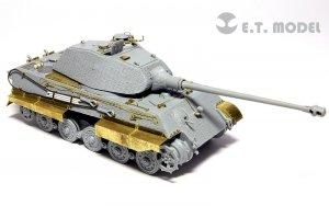 E.T. Model E72-020 WWII German KING TIGER (Porsche Turret) For DRAGON 7254 1/72