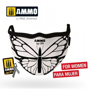 Ammo of Mig 8074 Face Mask for Life Butterfly