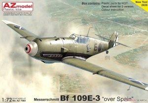 AZ Model AZ7660 Messerschmitt Bf 109E-3 Over Spain 1/72
