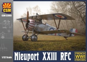 Copper State Models 32-004 Nieuport XXIII French WWI Fighter 1/32