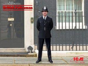 ICM 16011 British Policeman  1/16