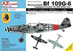AZ Model AZ7628 Bf 109G-6 JG.300 Pt.III 1/72