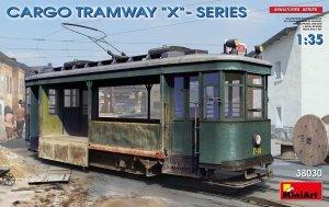 "Miniart 38030 CARGO TRAMWAY ""X""-SERIES 1/35"