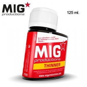 Mig Productions P705 THINNER FOR WASHES (125ML)