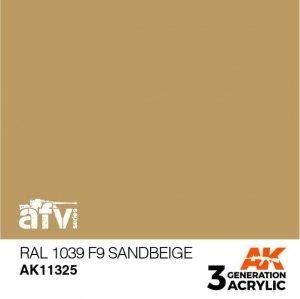 AK-Interactive AK 11325 RAL 1039 F9 Sandbeige 17ml