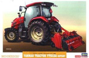 Hasegawa 66106 Yanmar Tractor YT5113A Rotary 1/35