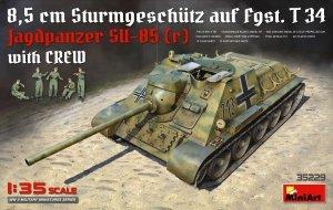 MiniArt 35229 Jagdpanzer SU-85 (R) w/CREW 1/35