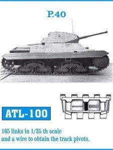 Friulmodel 1:35 ATL-100 P.40