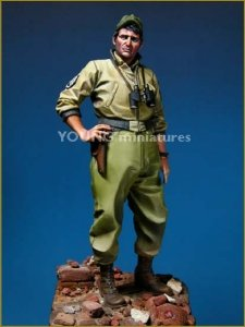 Young Miniatures YM9002 US TANK CREW WWII 90mm