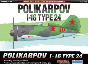 Academy 12314 Polikarpov I-16 type 24 1/48