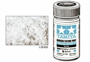 Tamiya 87119 Diorama Texture Paint (Snow Effect, White)