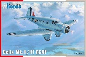 Special Hobby 72351 Delta Mk. II/ III RCAF 1/72