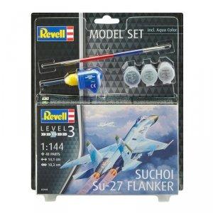 Revell 63948 Model Set Suchoi Su-27 Flanker (1:144)