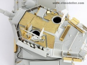 E.T. Model E35-009 Modern Centauro Tank Destroyer Turret Spatial Armour Plate For TRUMPETER 00386/00388