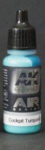 AK Interactive AK 2301 Cocpit Turquoise 17ml