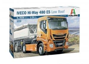 Italeri 3928 IVECO HI-WAY 480 E5 LOW ROOF 1/24