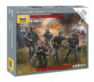 Zvezda 6270 German Panzergrenadiers 1/72