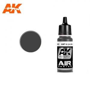 AK Interactive AK 2243 AMT-7 (A-26M) BLACK 17ml