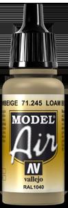 Vallejo 71245 Loam Beige