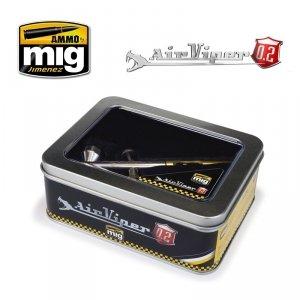 Ammo of Mig 8624 AIRVIPER Airbrush aeograf dysza 0.2 mm