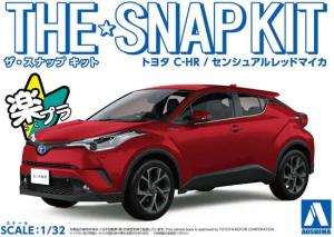Aoshima 05637 The Snap Kit Toyota C-HR Sensual Red Mica 1/32