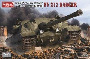 Amusing Hobby 35A034 FV 217 Badger British Heavy Tank Destroyer 1/35