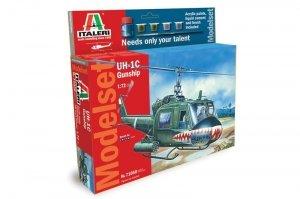 Italeri 71050 UH - 1C GUNSHIP- ZESTAW MODELARSKI