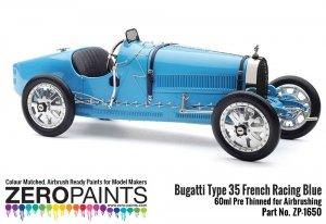 Zero Paints ZP-1650 Bugatti Type 35 French Racing Blue Paint 60ml