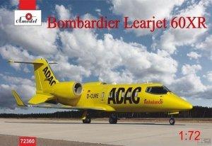A-Model 72360 Bombardier Learjet 60XR ADAC 1:72