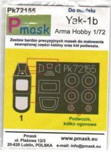 P-Mask PK72155 Yakovlev Yak-1b (Arma Hobby) 1/72