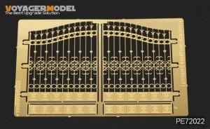 Voyager Model PE72022 European Iron Gates (Pattern 2) for All 1/72