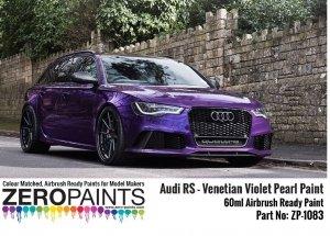 Zero Paints ZP-1083 Audi RS - Venetian Violet Pearl Paint 60ml