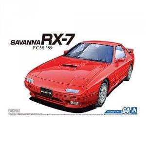 Aoshima 05549 MAZDA FC3S SAVANNA RX-7 89 (1/24)