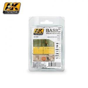 AK Interactive AK 688 BASIC WEATHERING SET