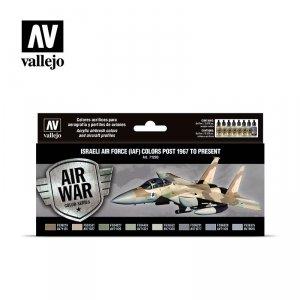 Vallejo 71203 Air War Color Series - Israeli Air Force (IAF) Colors Post 1967 to Present set
